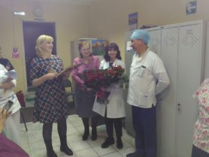 Поздравляем с юбилеем Сергей Сергеевича!